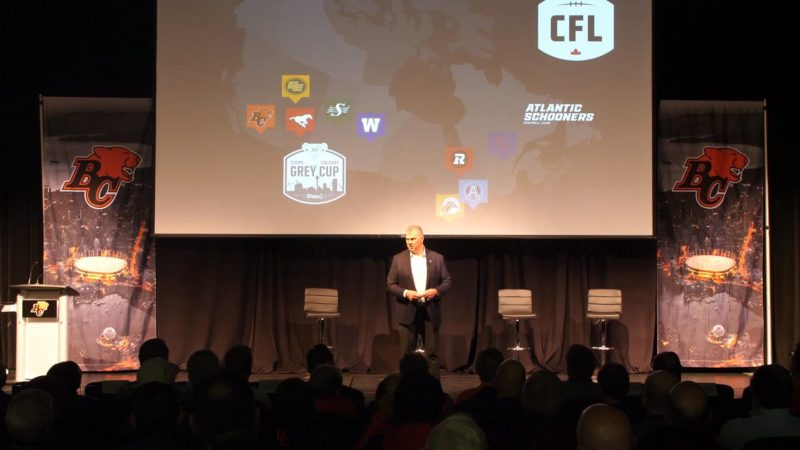 BC Lions Town Hall with Commissioner Ambrosie