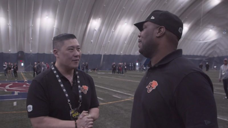 Coach Clay and Bryan Chiu Talk Combine