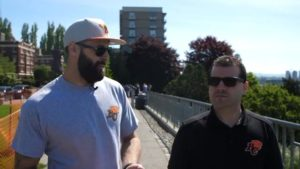 Block Talk With Bakes | Mike Reilly In Seattle