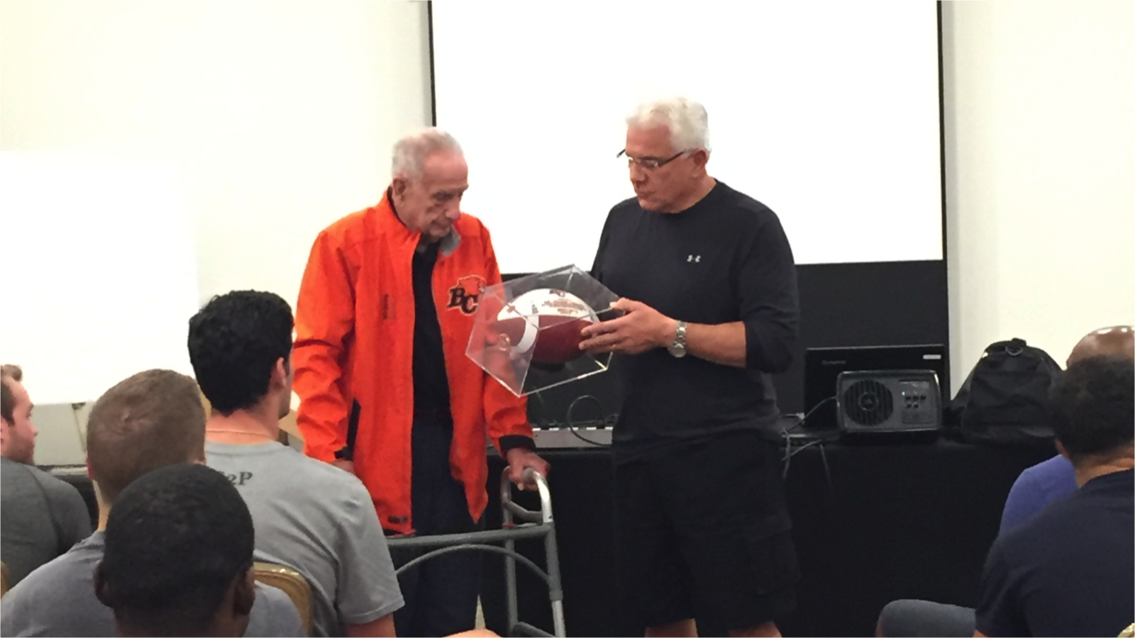 BC Lions Bid Farewell To Dr. Frank Lodato - BC Lions