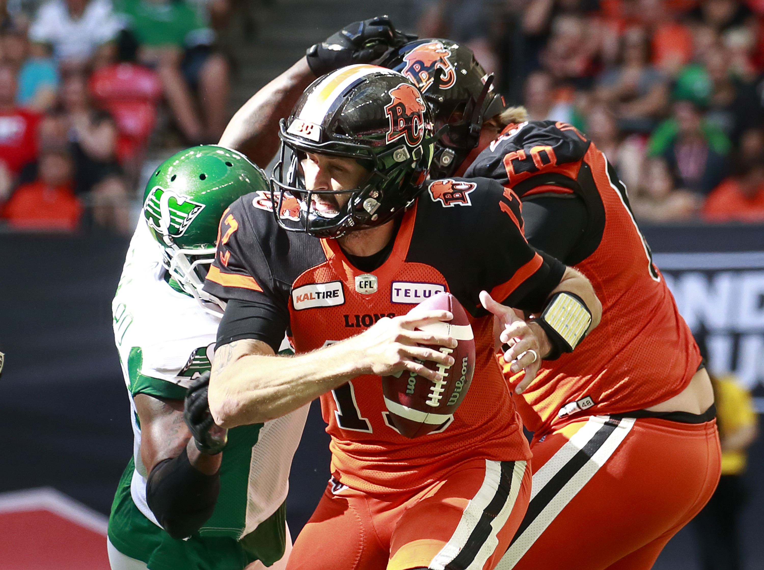 Bake's Game Takes   BC 18 SSK 45 - BC Lions