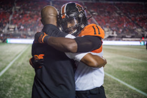 CFL football action between the BC Lions and the Ottawa Redblacks at TD Place Stadium, in Ottawa, Ont, Canada. Saturday SEPTEMBER 21 2019  (Photo by Icon Pictures / Marc Bourget-Roch Lambert)