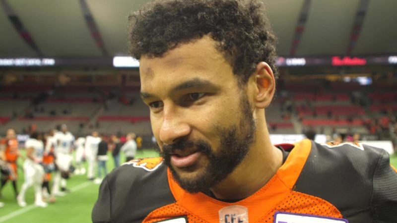 """That's BC Lions football. That's what we've been capable of all season."""