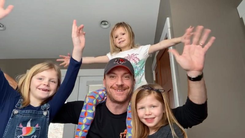 Travis Lulay & Family | HUDDLE AT HOME