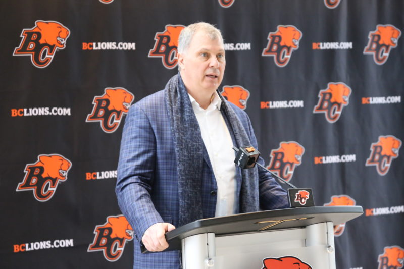 Randy Ambrosie's vision for an expanded global reach for the CFL was on full display during his two-day stop in Vancouver.