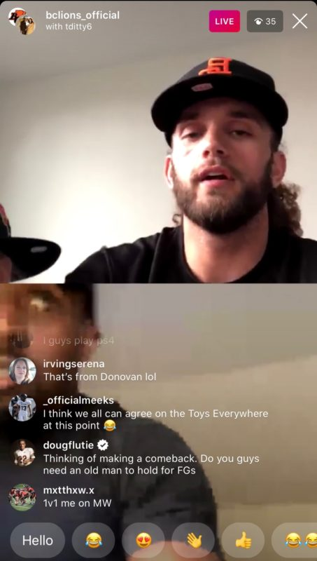 Doug Flutie, considered by many to be the greatest CFL player ever, took time out of his day to join Lions Aaron Grymes and TJ Lee on Instagram LIVE.