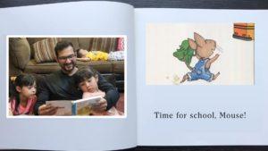 Time For School Mouse – by Sergio Castillo, Mía & Sofía