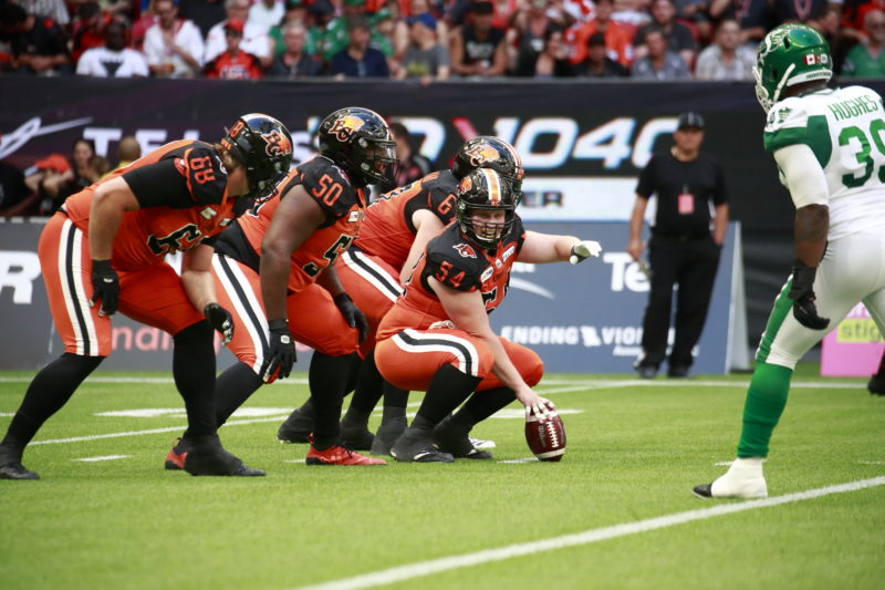 Andrew Peirson of the BC Lions has teamed up with FortisBC