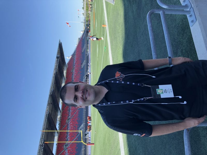 From attending his first game as in a baby stroller to eventually working for the club, Matt Baker breaks down what makes him love the BC Lions.