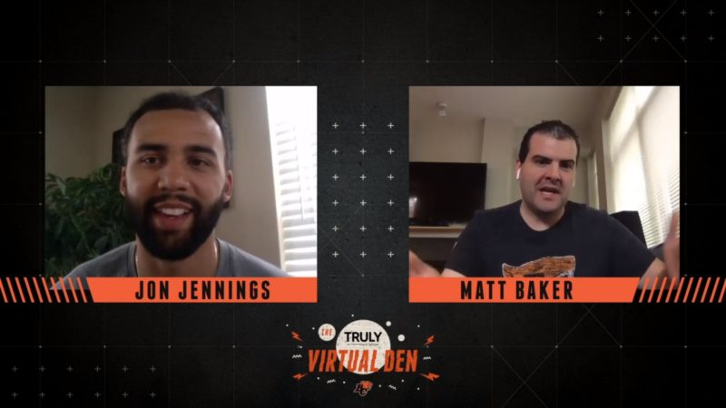 TRULY Virtual Den | Jennings Breaks Down Winning TD