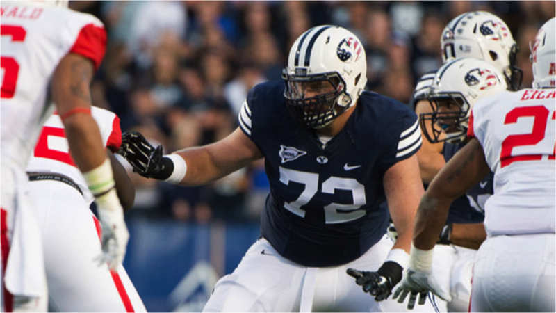 Lions offensive lineman Ryker Mathews was no stranger to big games before he arrived in Canada. He looks back at some big moments at BYU.