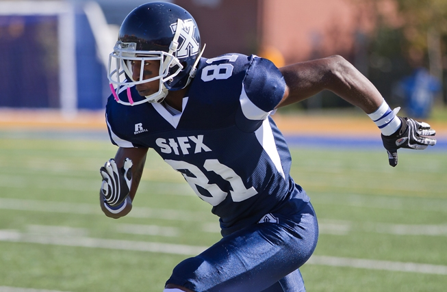 Lions receiver Devon Bailey looks back on his top college memories as a member of the St. Francis Xavier X-Men. Bailey was always fond of Homecoming week.