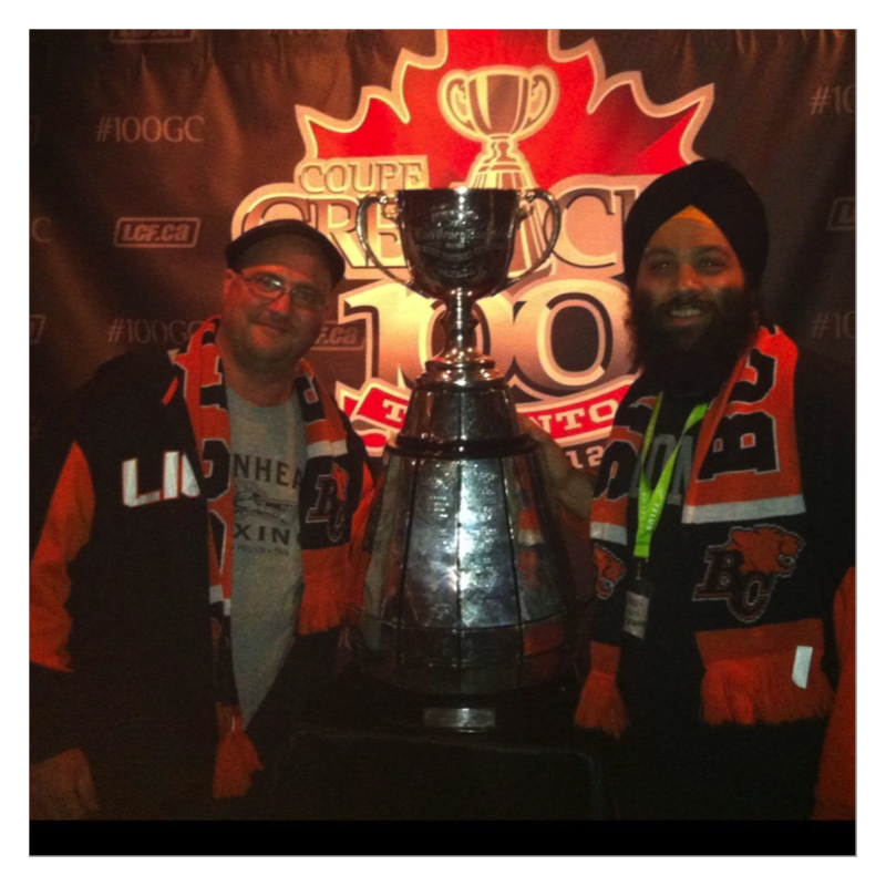 Long-time Lions supporter Darshan Singh talks about etching his name on the Grey Cup Fan Base and what makes the tradition so special.