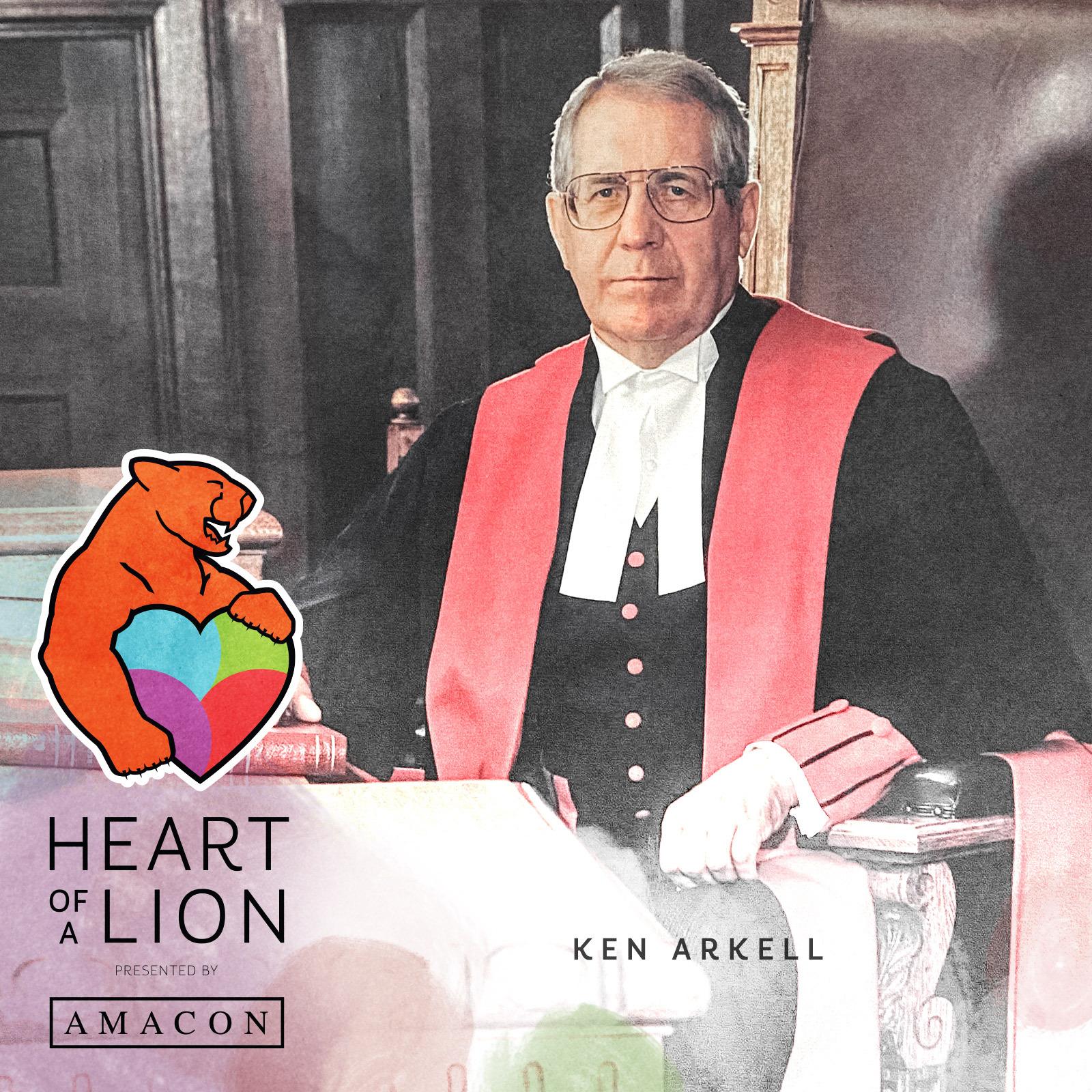 Ken Arkell - Heart of a Lion Heroes Award Recipient