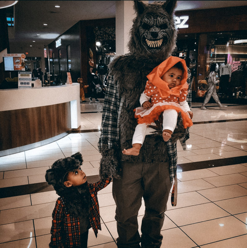 Halloween is always a big event in the Rainey household. We speak with the Lions veteran on favourite movies, candy policies, and of course, costumes!