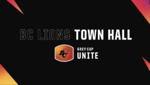 🎥WATCH | BC Lions Town Hall