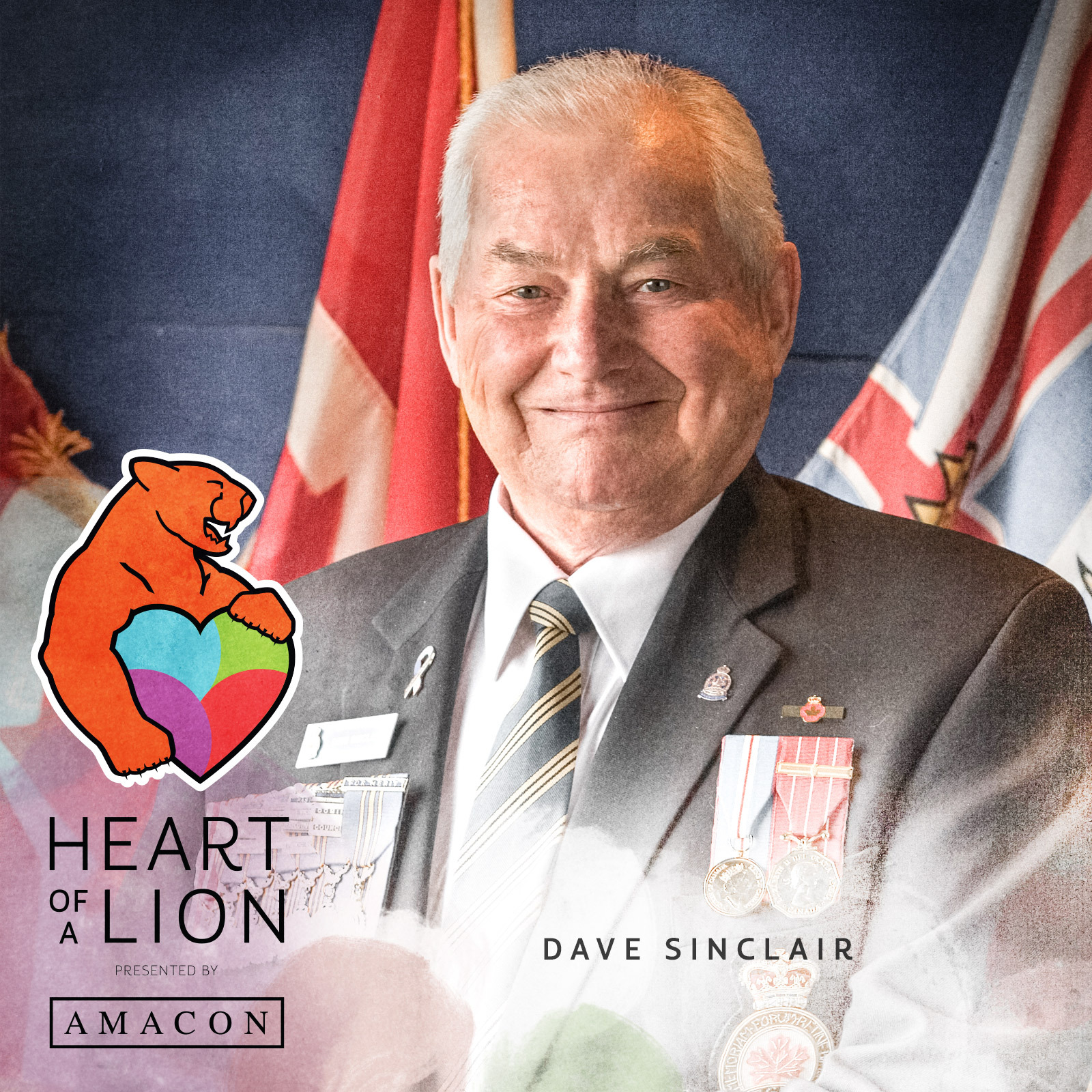 David Sinclair - Heart of a Lion Heroes Award Recipient