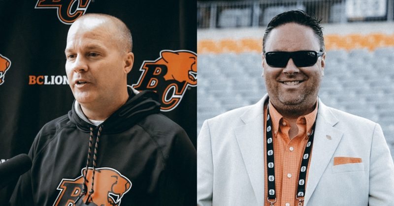 Rick Campbell and Neil McEvoy will officially share BC Lions GM duties as the club finalized football operations and coaching staff for 2021 season.