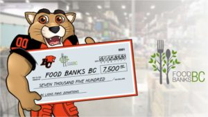 Lions Donate $7500 In Mask Proceeds To Food Banks BC