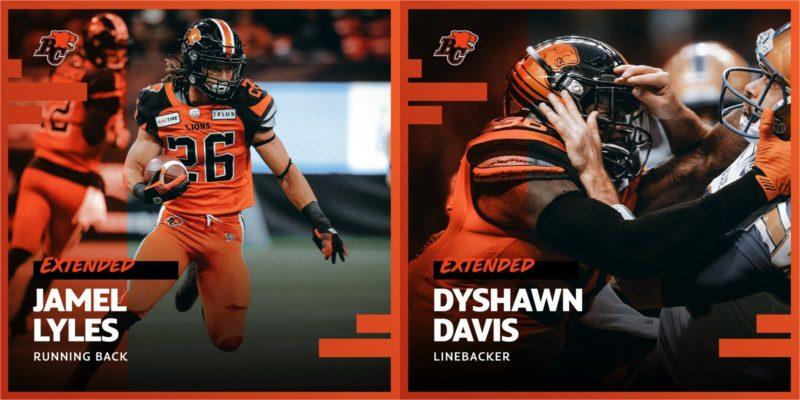 Lions Bring Back RB Jamel Lyles And LB Dyshawn Davis