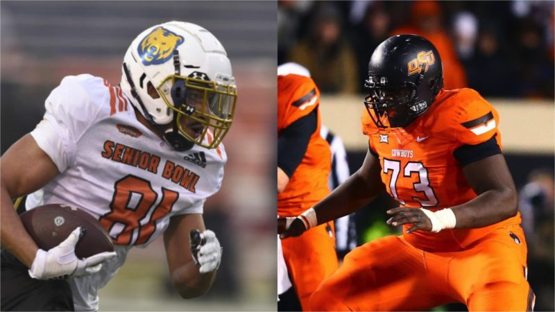 Lions Add WR Alex Wesley and OL Victor Salako To Roster