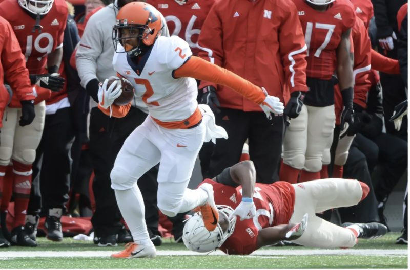 Former Illinois standout running back Reggie Corbin on joining the BC Lions, how his game suits the CFL field and how he can't wait to get up north.