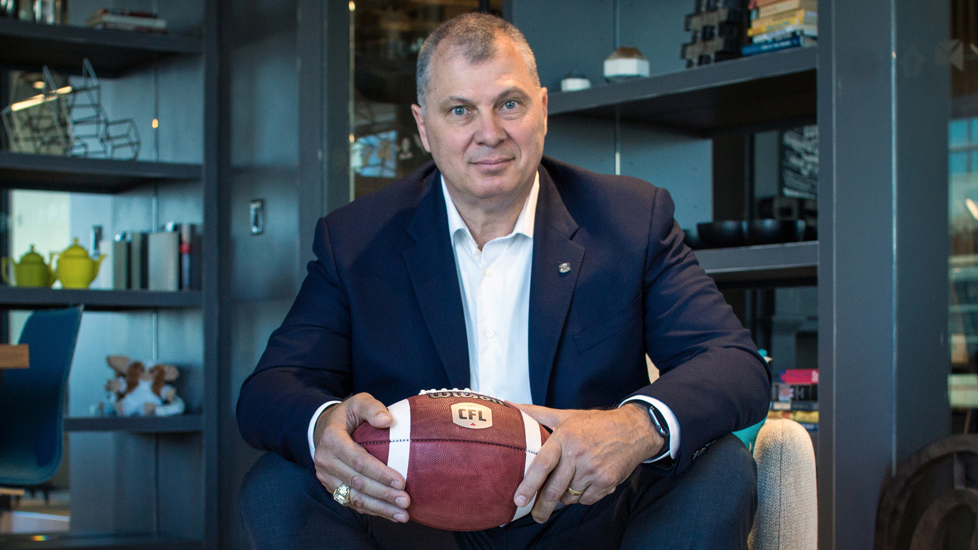 Commissioner Ambrosie speaks on CFL's return to play plan