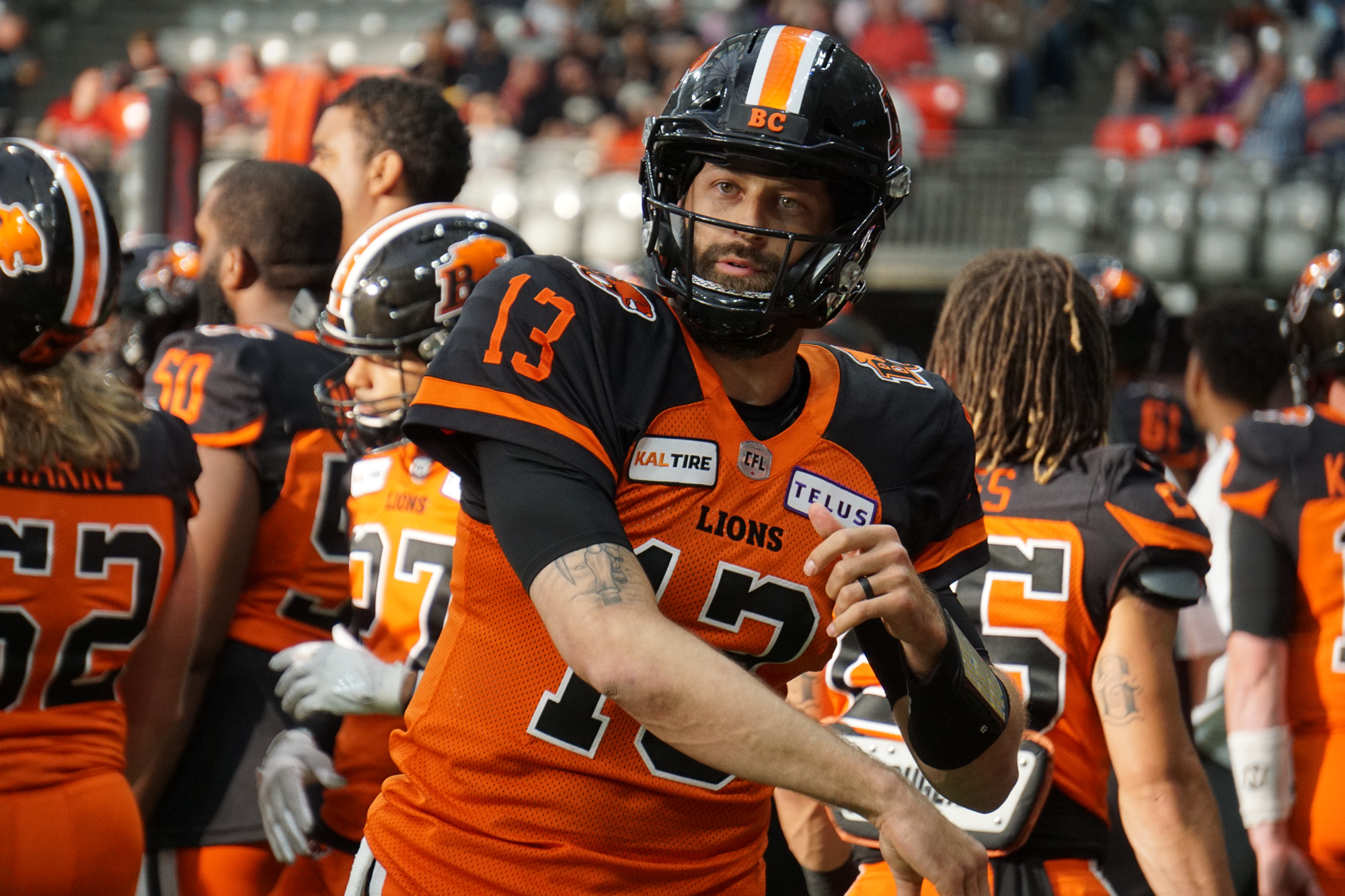 With no signs of slowing down, we take a look at where Michael Reilly can land on the CFL's all-time passing list before all is said and done.