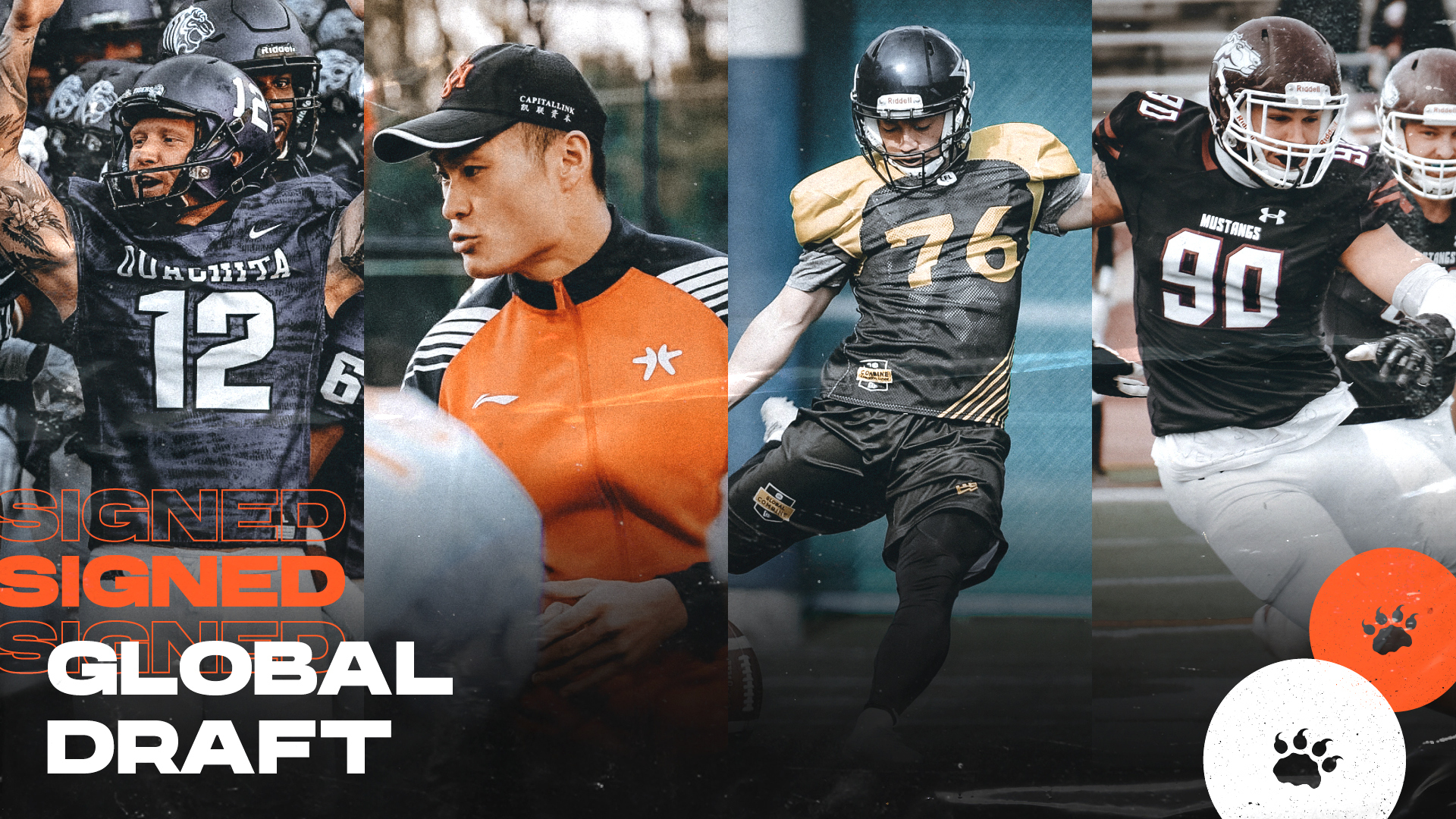 Lions Lock Up All Four From 2021 Global Draft Class