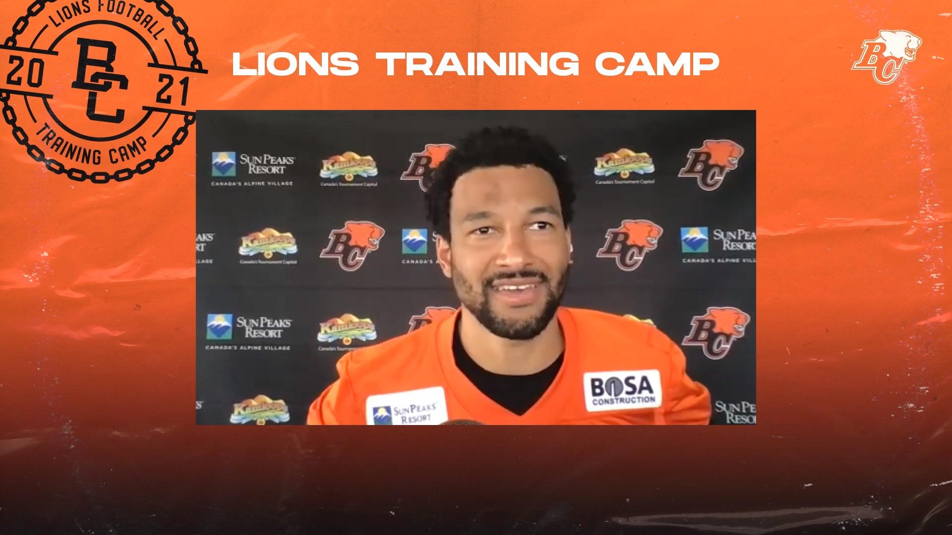 Training Camp July 11 | Bryan Burnham