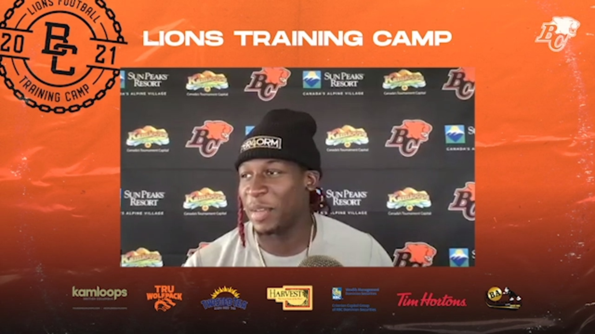Training Camp July 12 | Lucky Whitehead