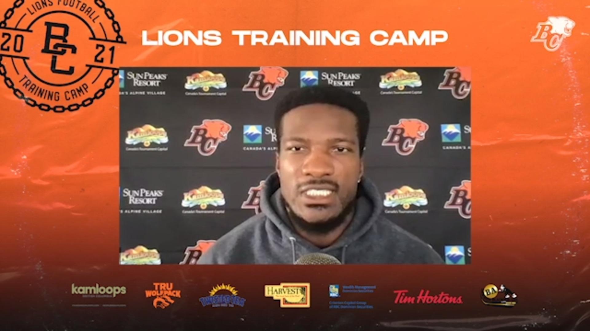 Training Camp July 12 | Bo Lokombo