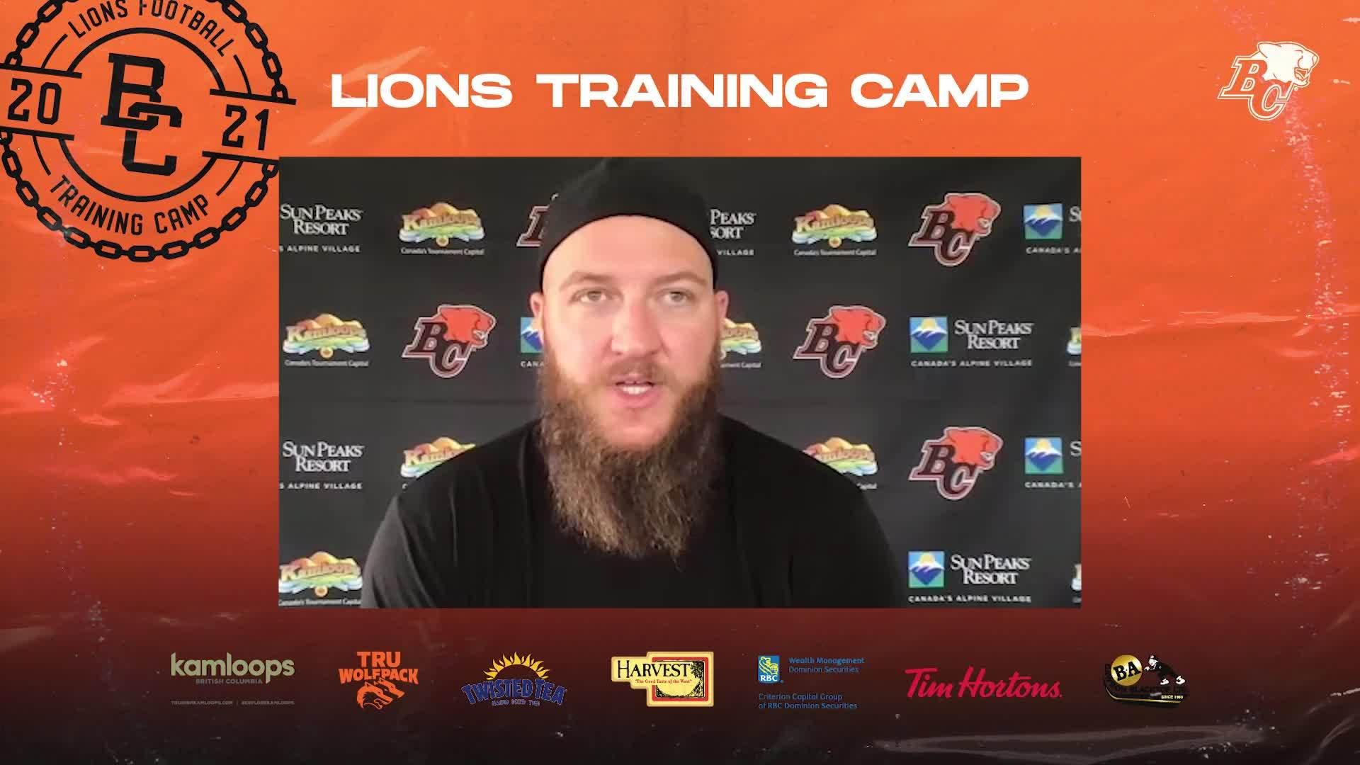 Training Camp July 13 | Ryker Mathews