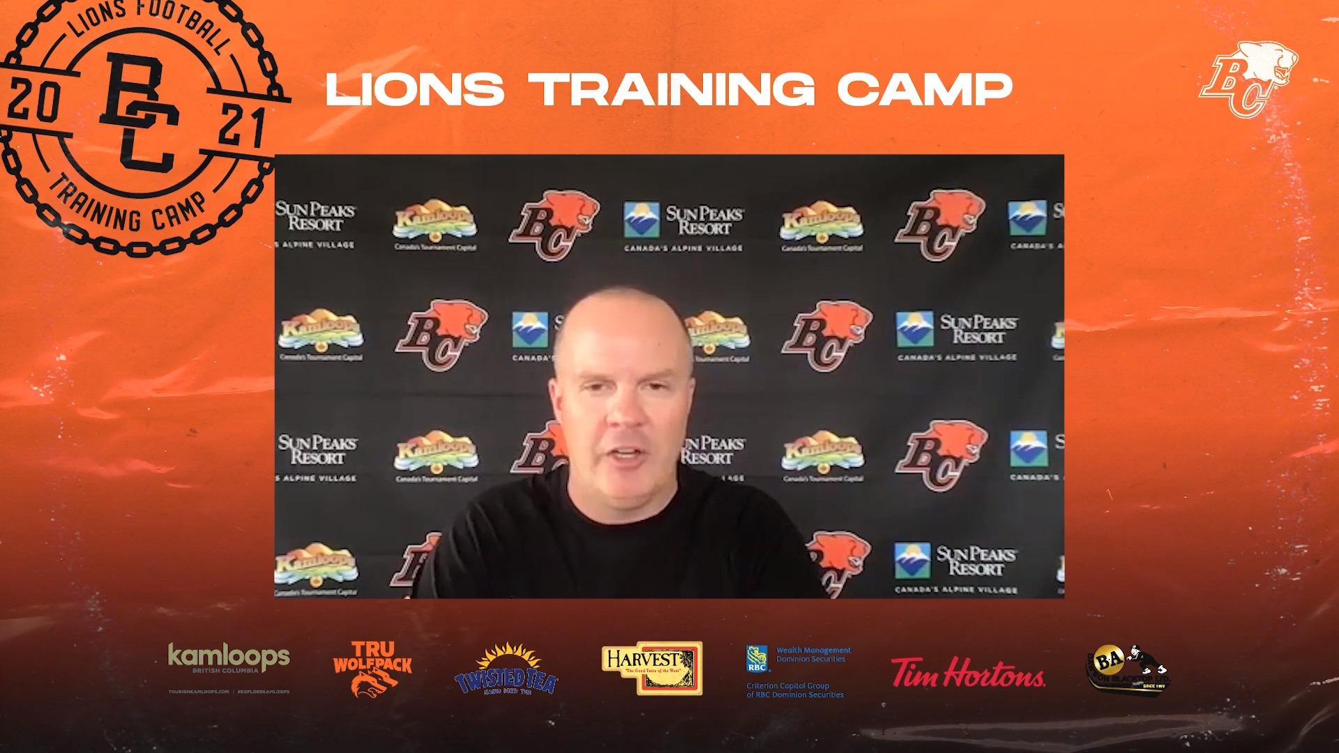 Training Camp July 13 | Rick Campbell