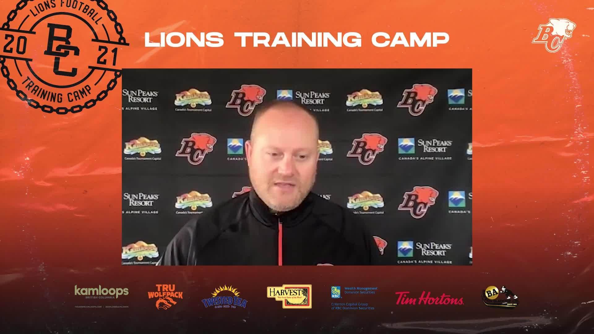 Training Camp July 14 | Kelly Bates