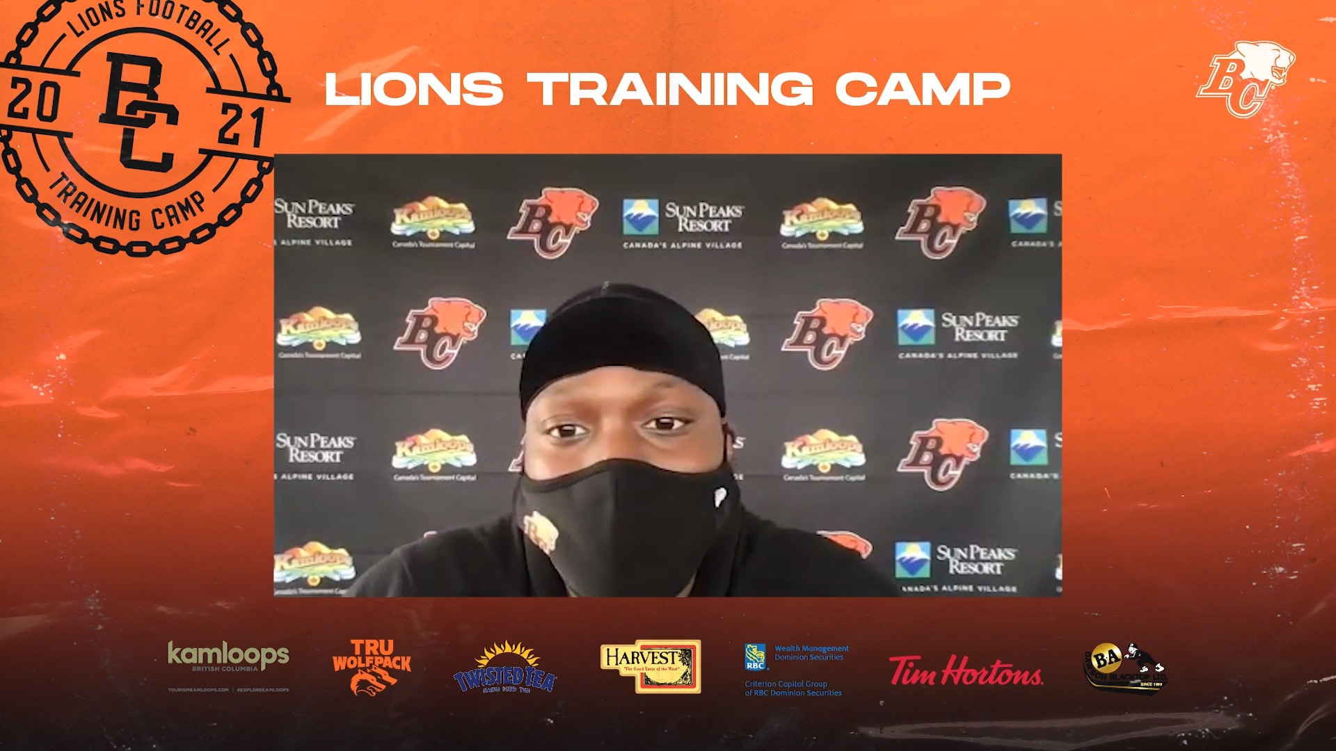 Training Camp July 14 | Shaq Johnson
