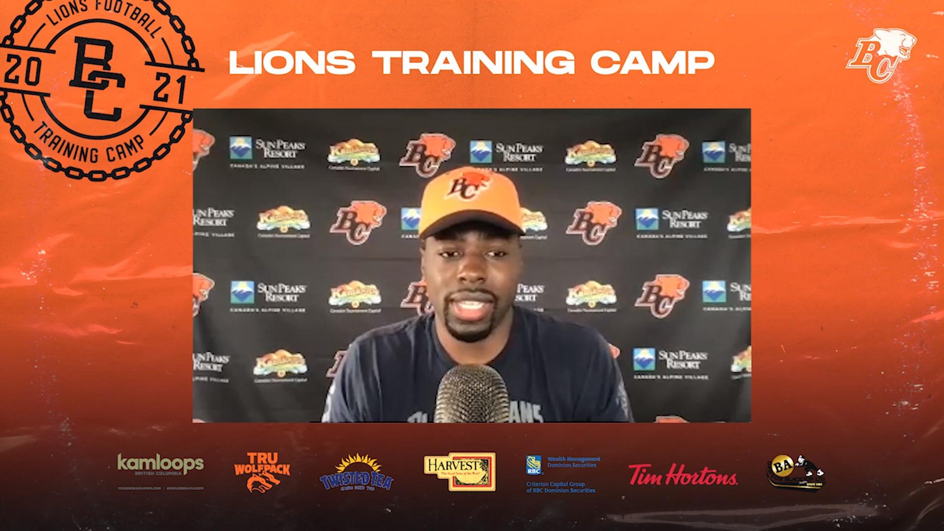 Training Camp July 14 | Jordan X. Williams
