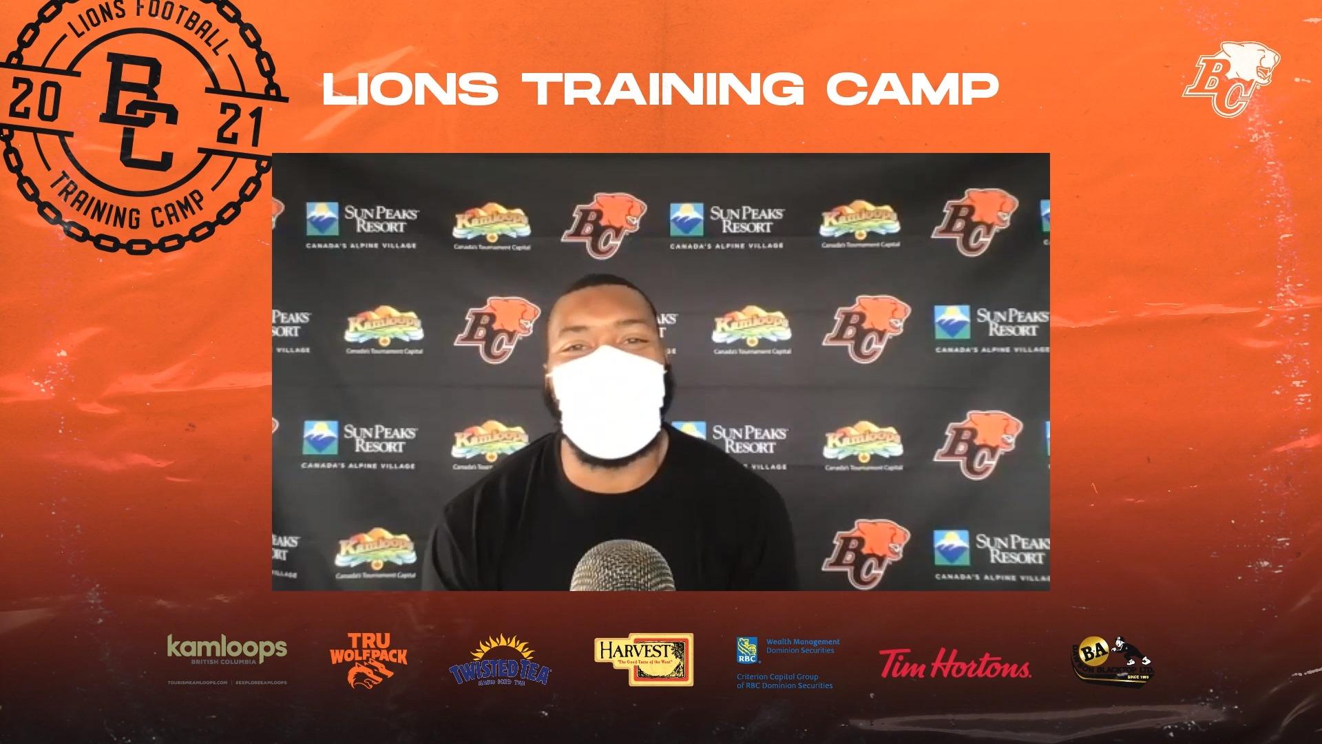 Training Camp July 15 | Chris Casher