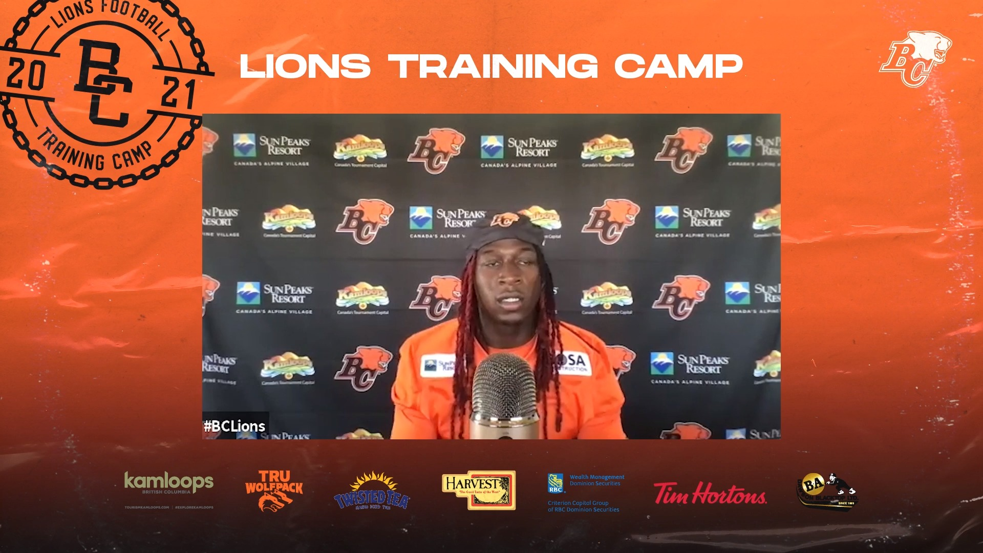 Training Camp July 16 | Lucky Whitehead