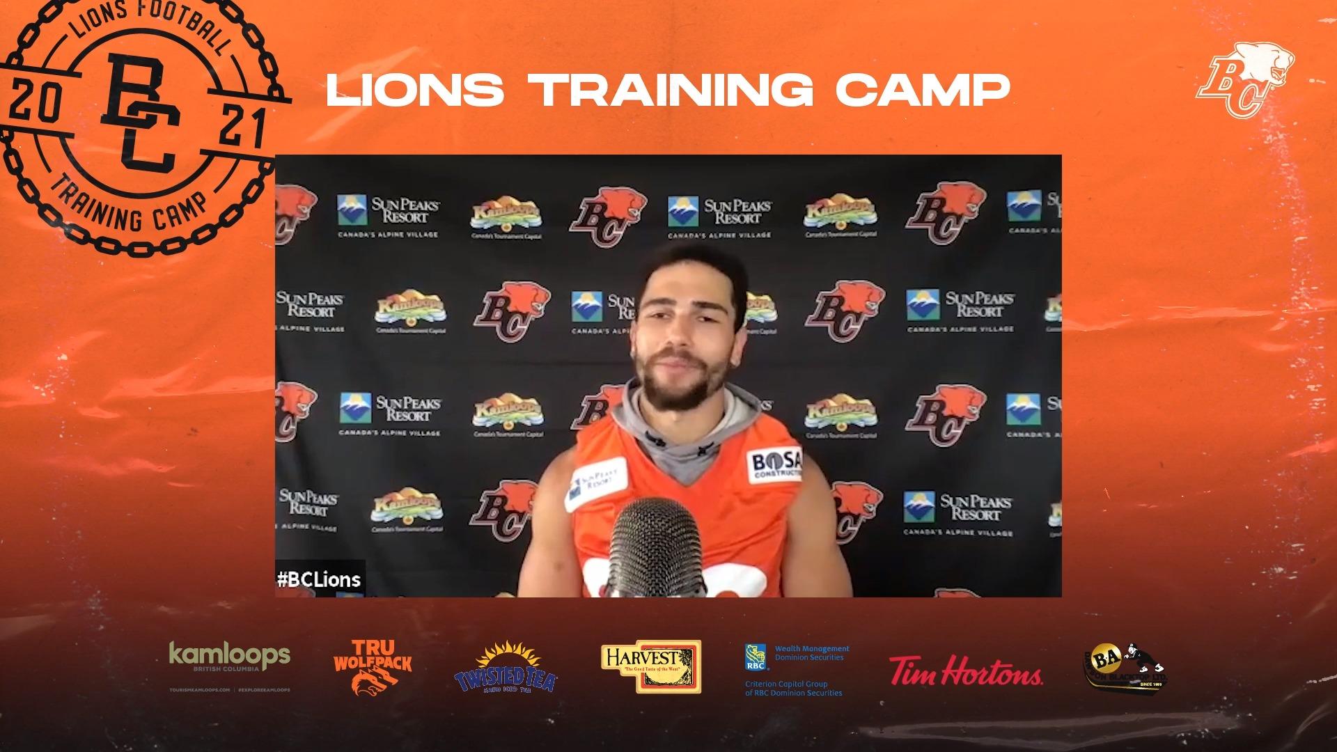Training Camp July 19 | Jamel Lyles