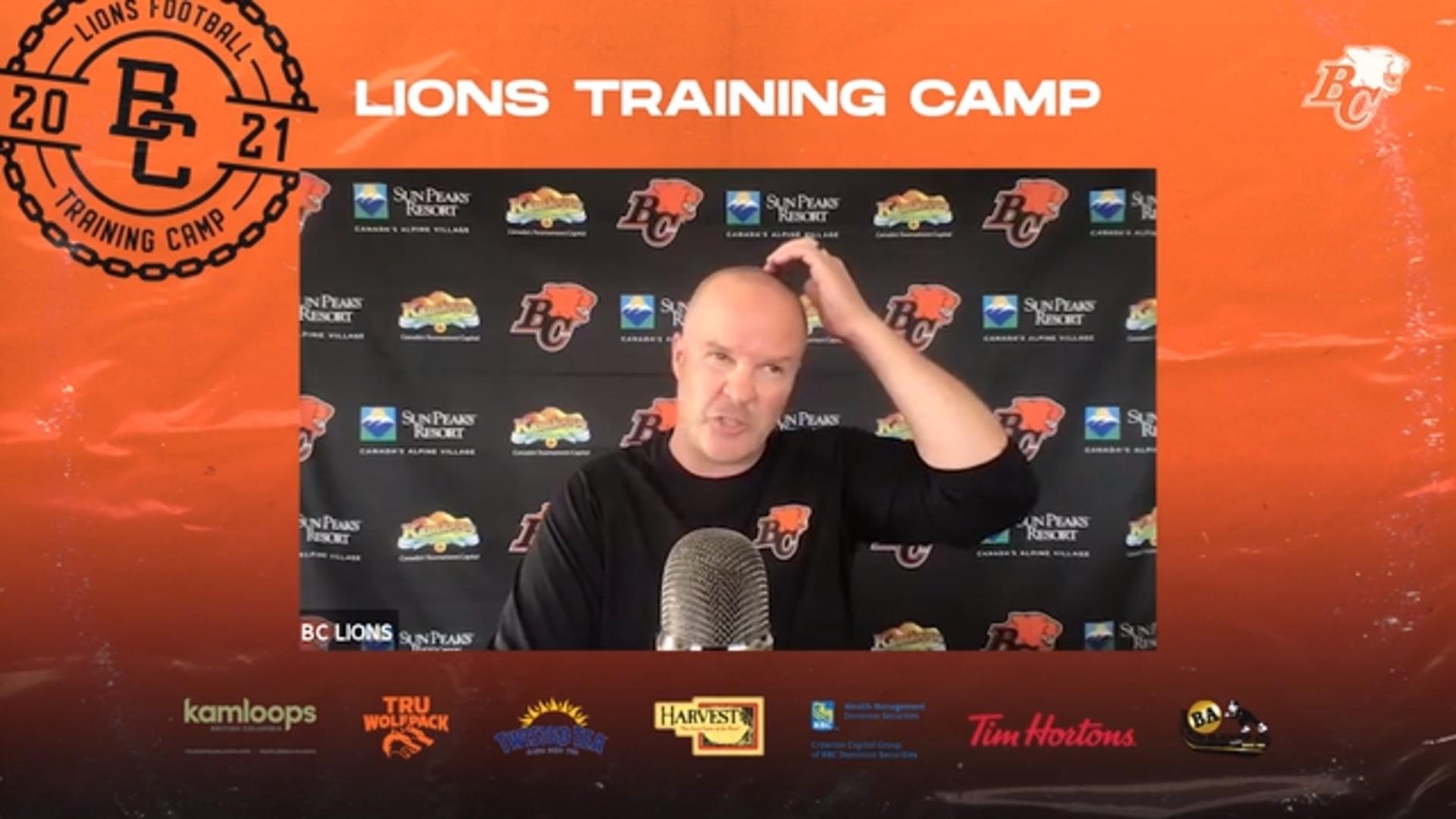 Training Camp July 20 | Rick Campbell