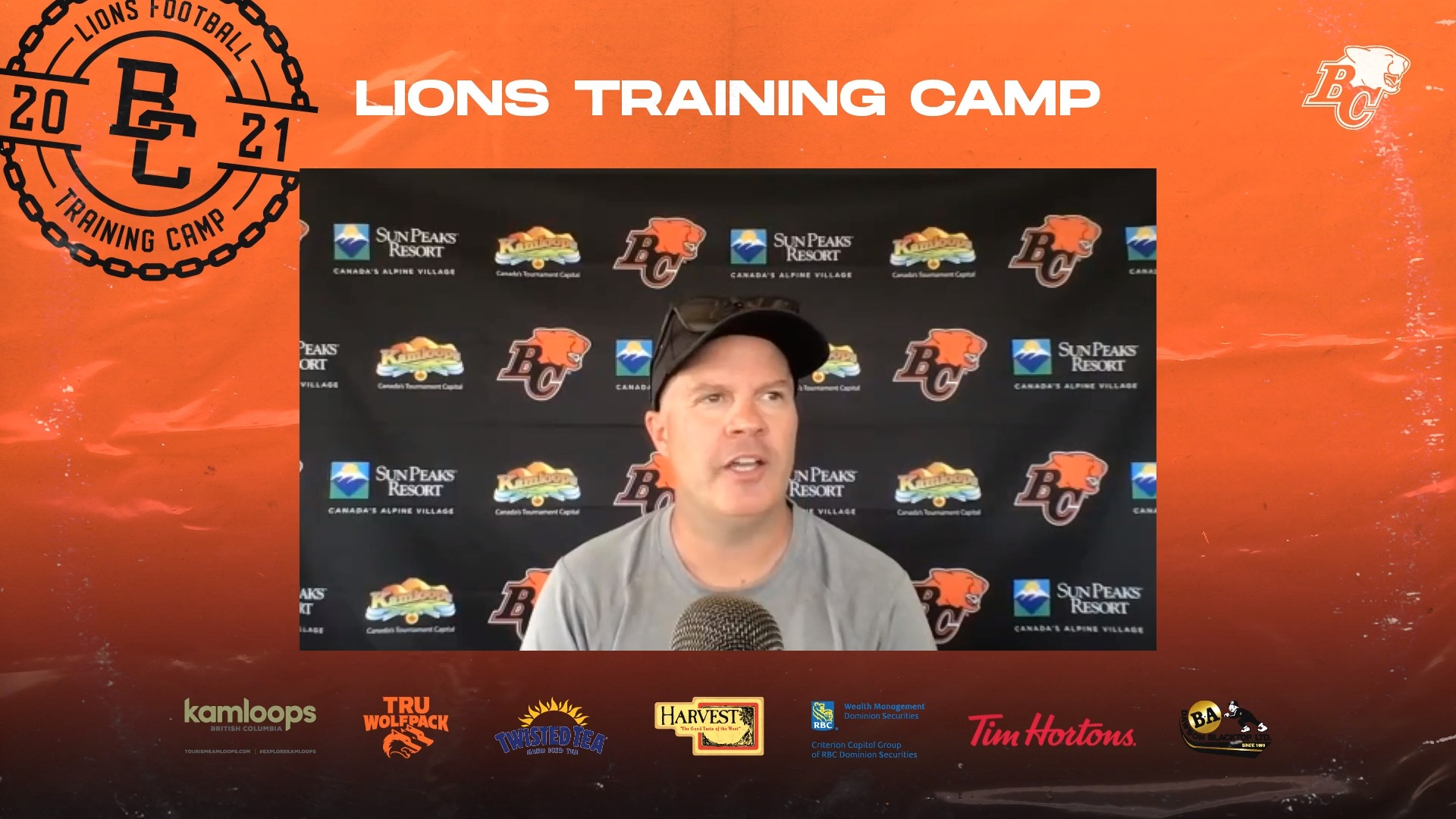 Training Camp July 21 | Rick Campbell