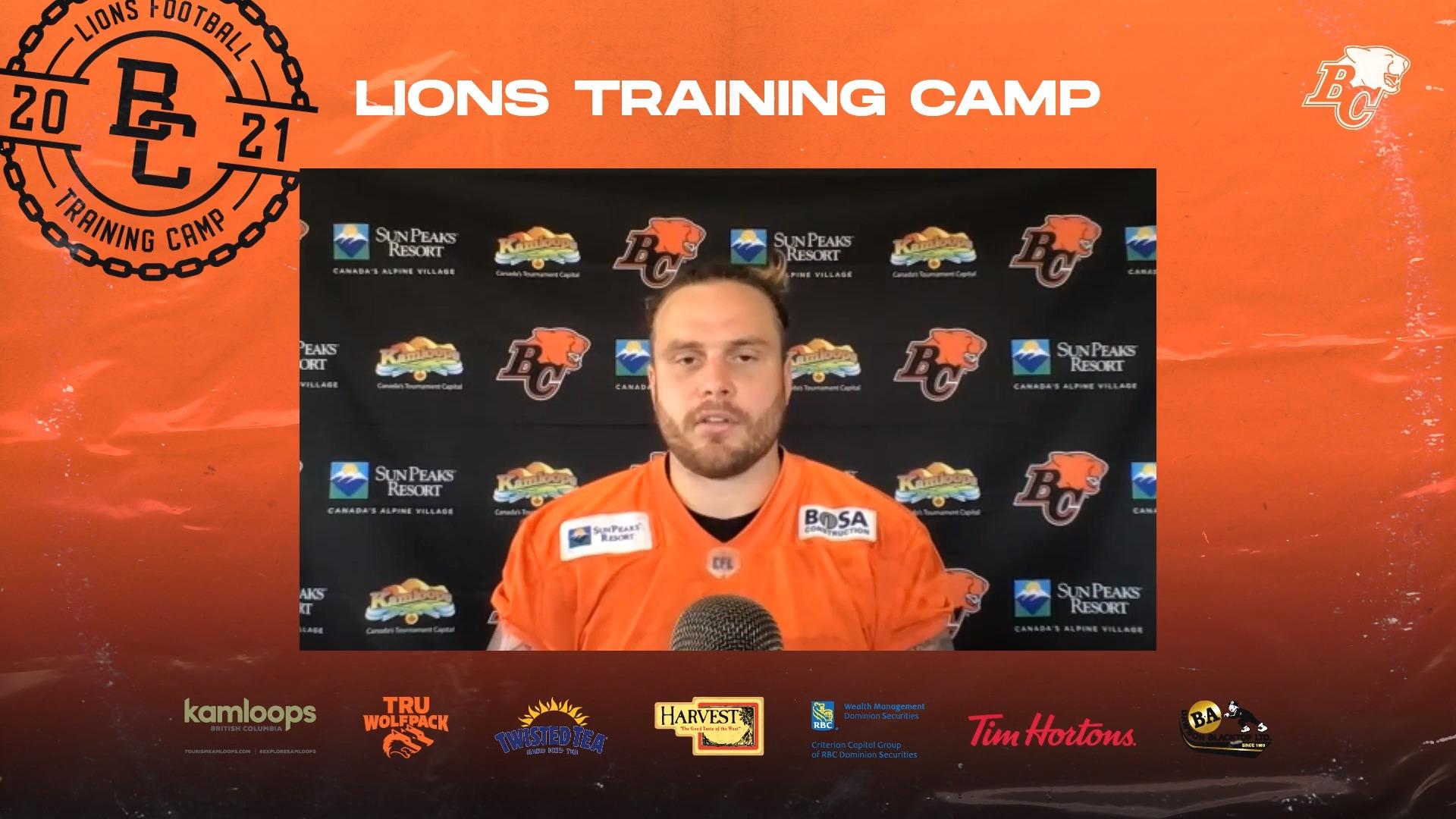 Training Camp July 21 | Hunter Steward