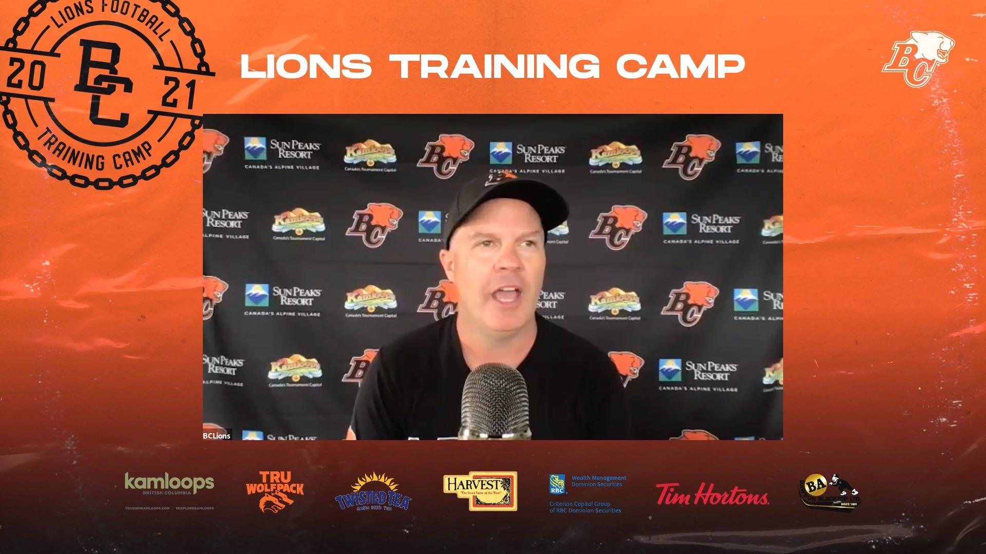 Training Camp July 22 | Rick Campbell