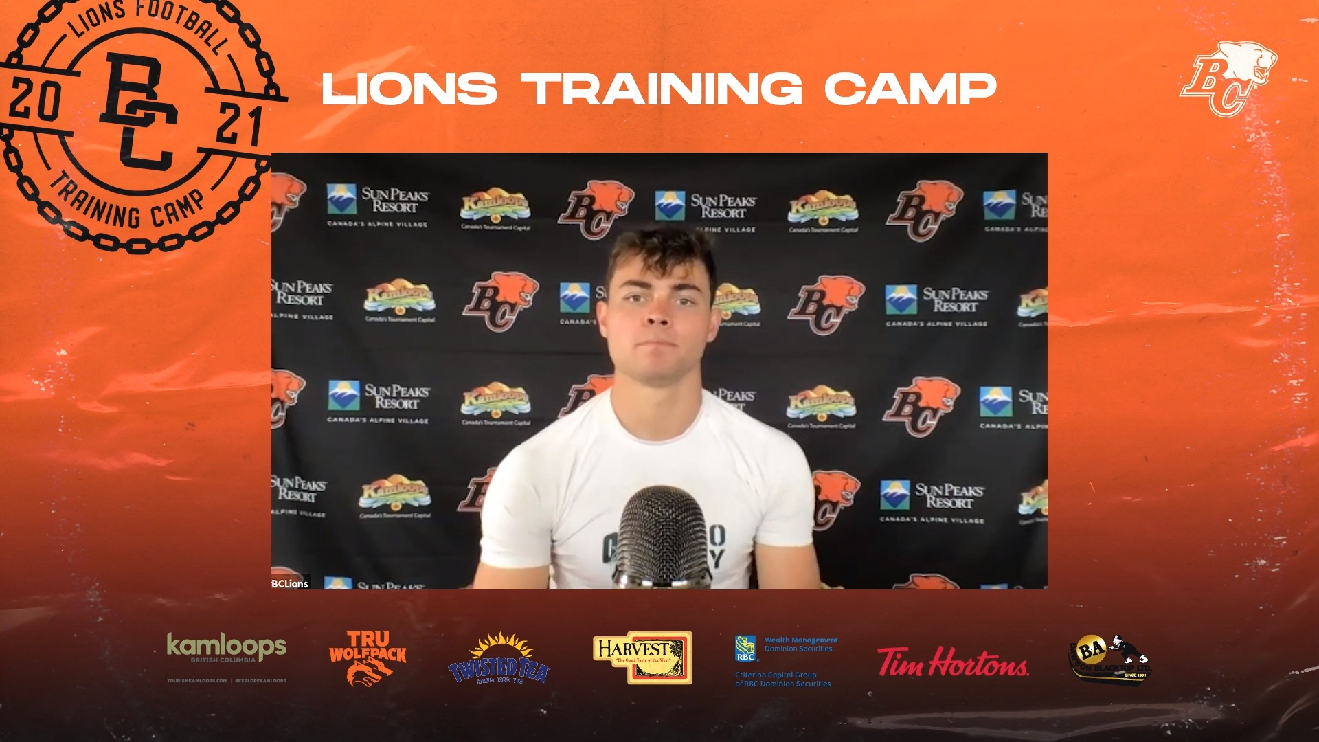 Training Camp July 22 | Nathan Rourke