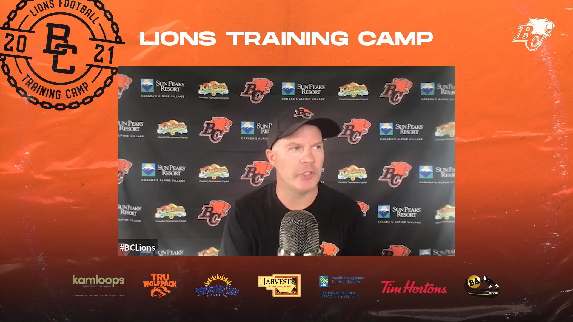 Training Camp July 23 | Rick Campbell