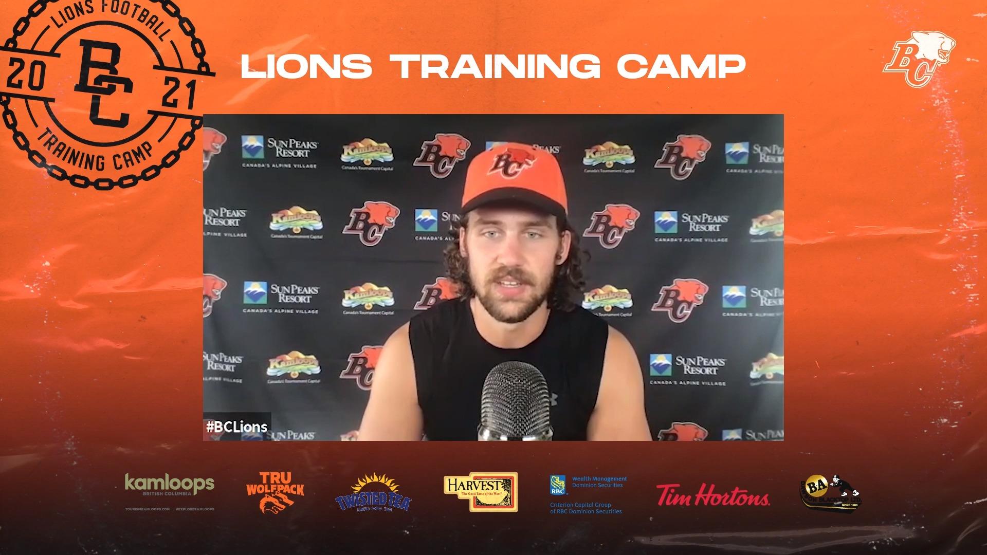 Training Camp July 23 | Ben Hladik