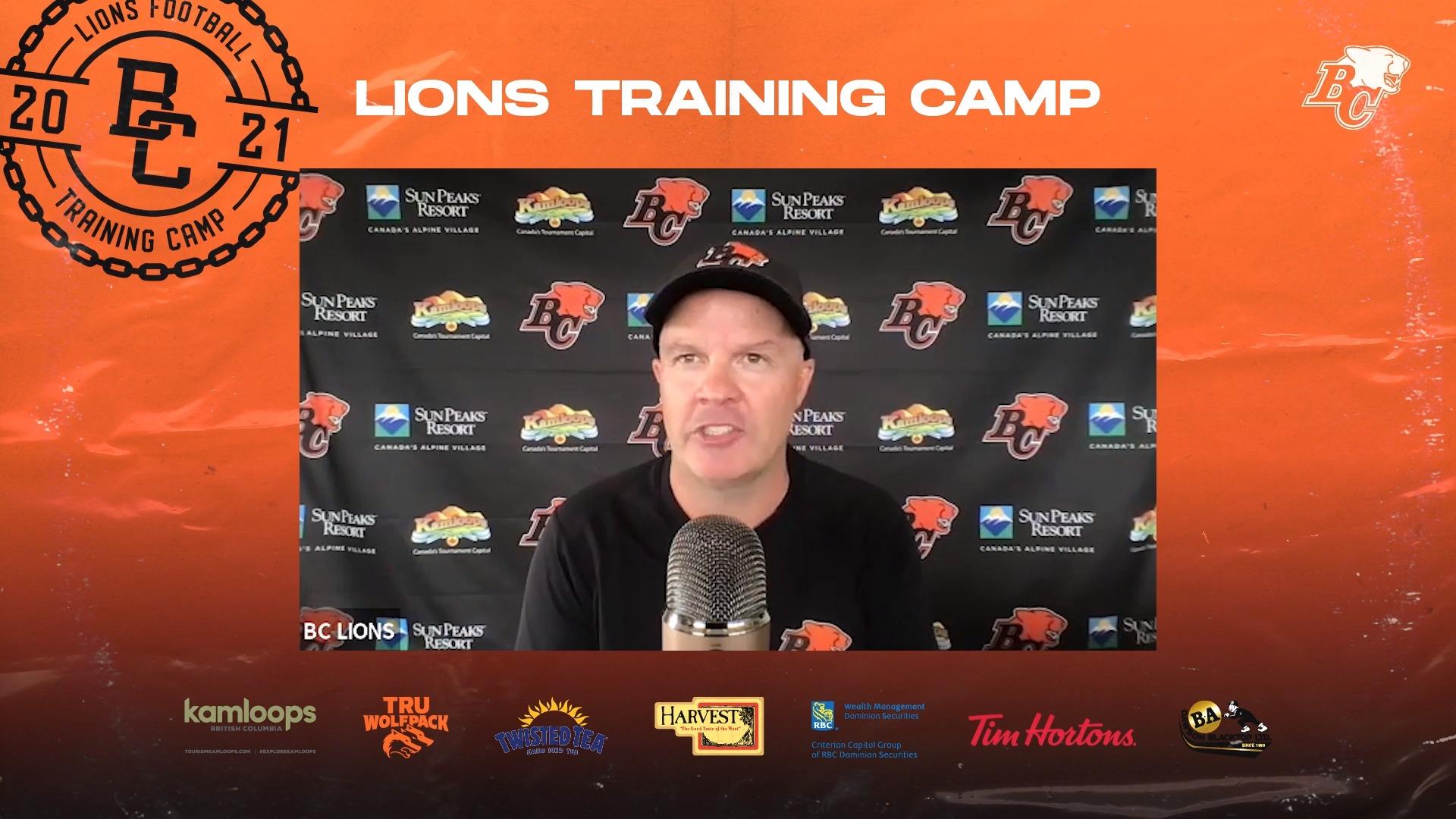 Training Camp July 24 | Rick Campbell