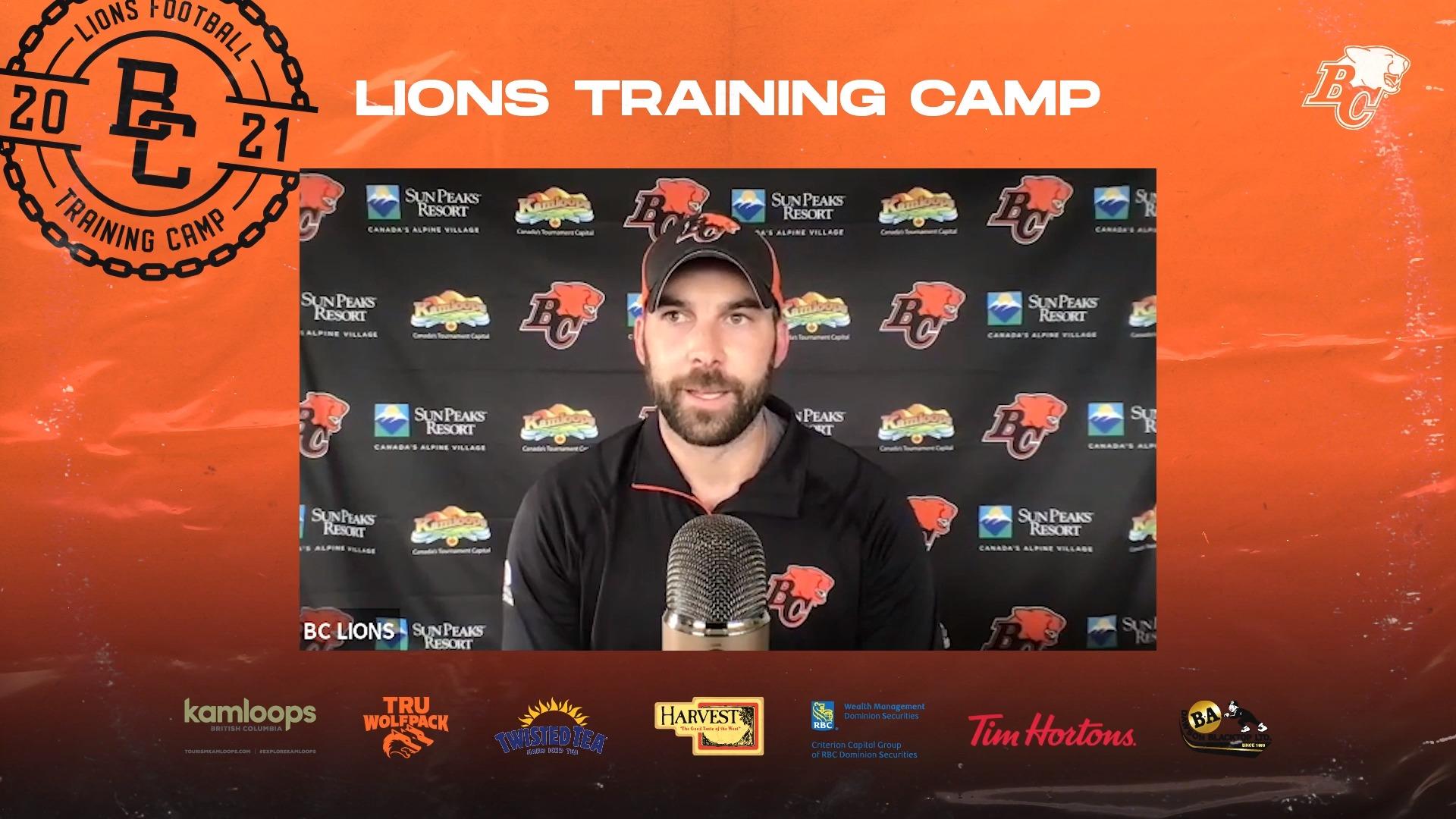 Training Camp July 24 | Jordan Maksymic