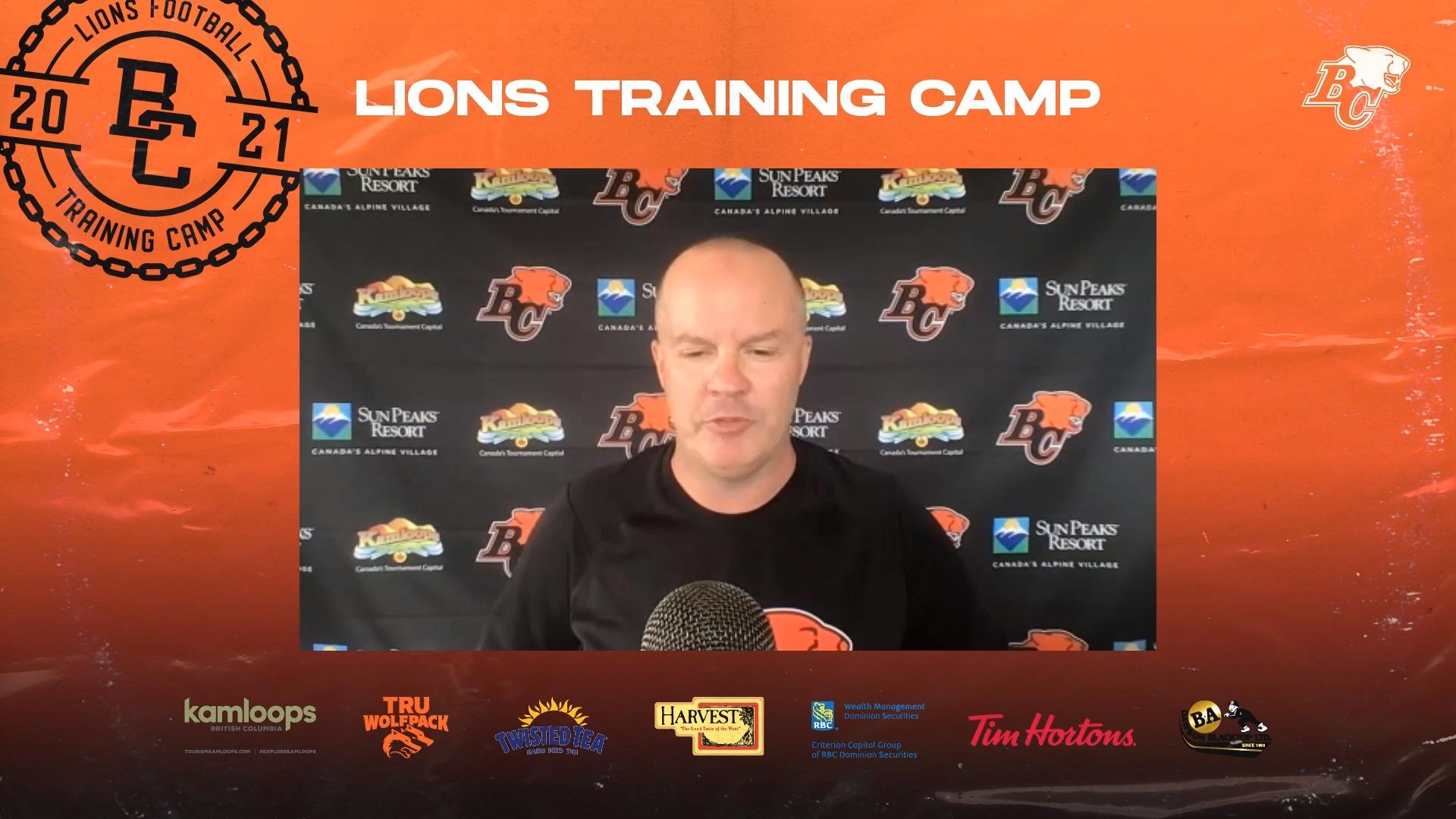 Training Camp July 26 | Rick Campbell